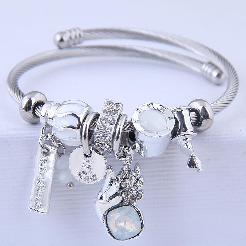 bracelet mode DL ailes d39ange scintillantes NHSC314580