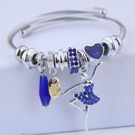 bracelet de ballet en diamant flash simple NHSC315057's discount tags