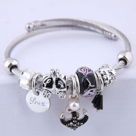 bracelet d'ancre sauvage en métal de mode NHSC315050's discount tags