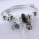 bracelet de hibou de cl sauvage en mtal de mode NHSC315052