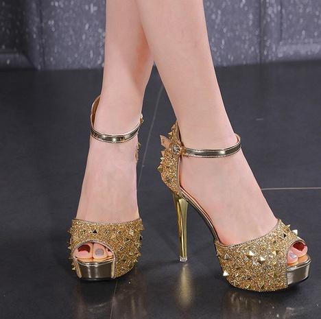 sexy sandalias súper altas NHEH314731's discount tags