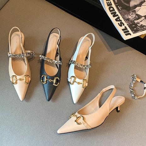 elegantes zapatos de tacón medio NHEH314748's discount tags