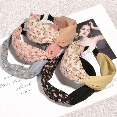 Koreanisches Blumenstoff-Mode-Stirnband NHAQ314871's discount tags