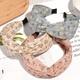 fashion chiffon wide-brimmed flower headband  NHAQ314875