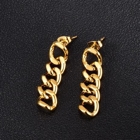 Korean metal chain fashion earrings NHAB314895's discount tags