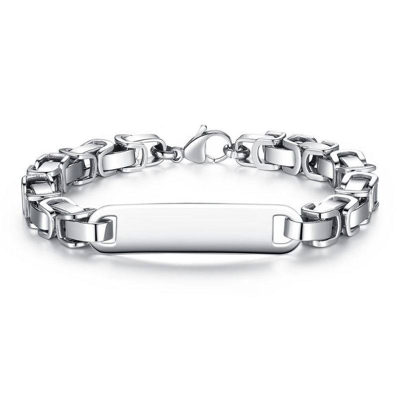 mens stainless steel bracelet  NHKN314998