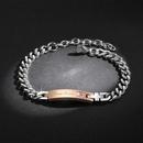 Valentines Day Stainless Steel Bracelet NHKN315007