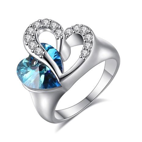 Bague en cristal Ocean Heart NHKN315030's discount tags