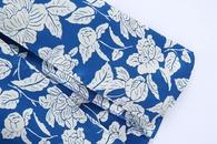 robe milongue  manches longues  imprim printemps NHAM315086