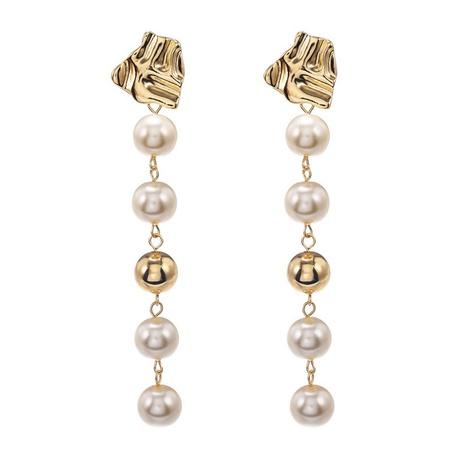 creative tassel pearl earrings NHZU315120's discount tags