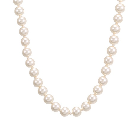 collier simple de perles de mode NHZU315151's discount tags