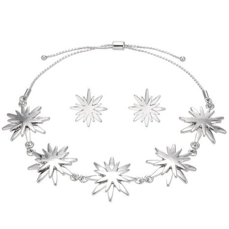 Sun Flower Bracelet Ohrringe Set NHZU315180's discount tags