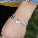 Ensemble de boucles d39oreilles bracelet fleur de soleil NHZU315180