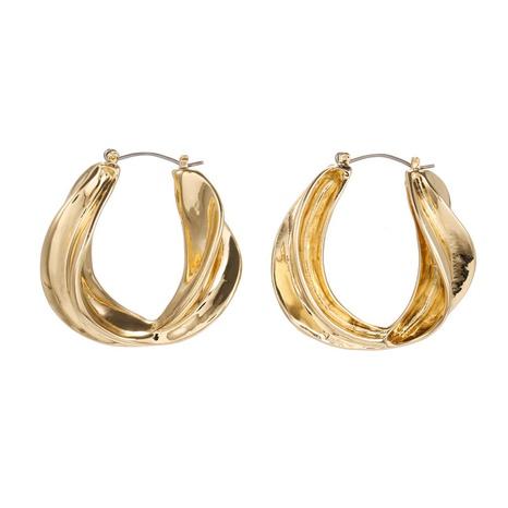 Korean metal geometric earrings NHZU315223's discount tags
