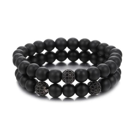 micro-inlaid zircon diamond ball bracelet set  NHZU315229's discount tags