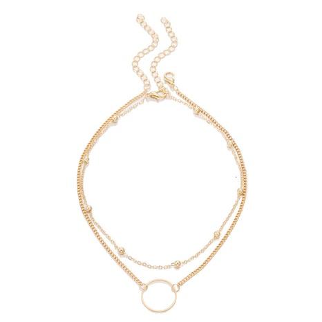 collier à pendentif simple double épaisseur NHZU315228's discount tags