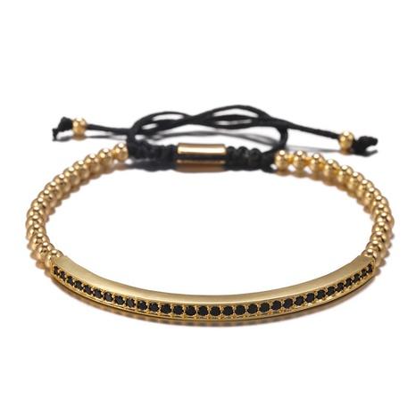 bracelet fantaisie en zirconium incrusté de cuivre NHZU315282's discount tags