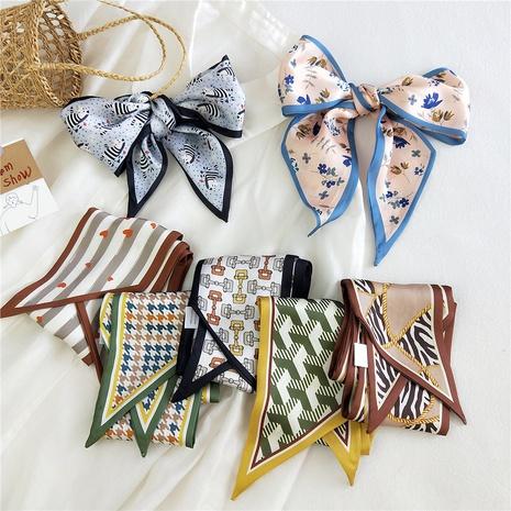 Bufanda de seda de moda coreana NHMN315325's discount tags
