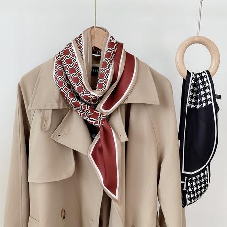 bufanda de seda de doble cara de primavera y otoño NHMN315327's discount tags
