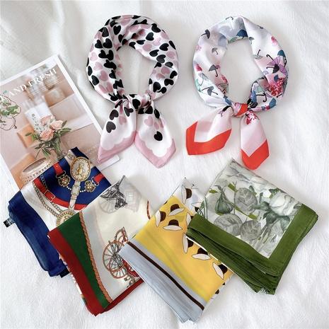 bufanda de seda cuadrada de moda NHMN315332's discount tags