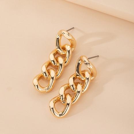 boucles d'oreilles à chaîne à pampilles simples NHAI315346's discount tags