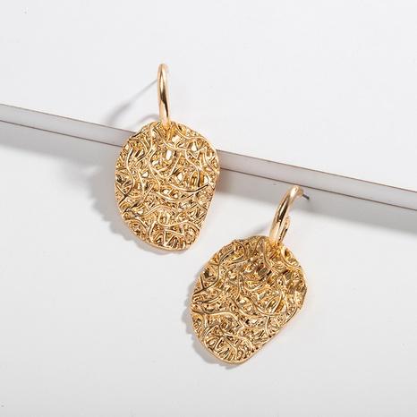 boucles d'oreilles rétro tissées en forme de goutte NHAI315349's discount tags
