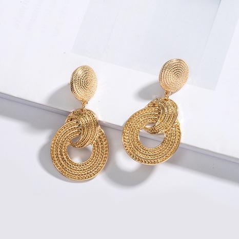 boucles d'oreilles simples cercle exagéré NHAI315350's discount tags