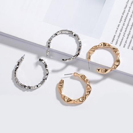 boucles d'oreilles à la mode simples NHAI315351's discount tags