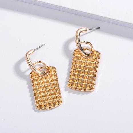 nouvelles boucles d'oreilles simples et exagérées NHAI315356's discount tags