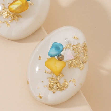 simple resin fashion earrings NHAI315375's discount tags
