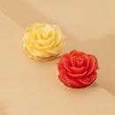boucles d39oreilles roses rouges rtro NHAI315379