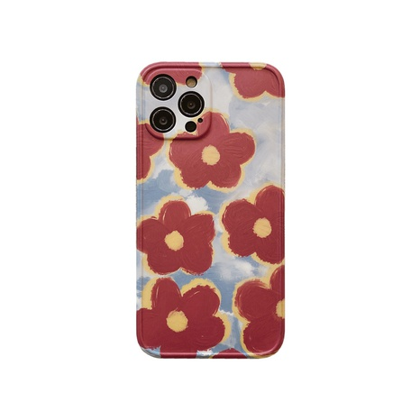 Retro oil painting flowers mobile phone case for Apple se2 8plus XR X NHFI314453's discount tags