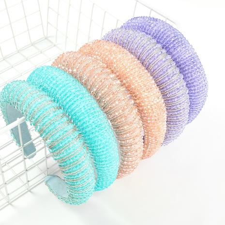 Diadema de cuentas de arroz de acrílico de moda coreana NHJE318342's discount tags