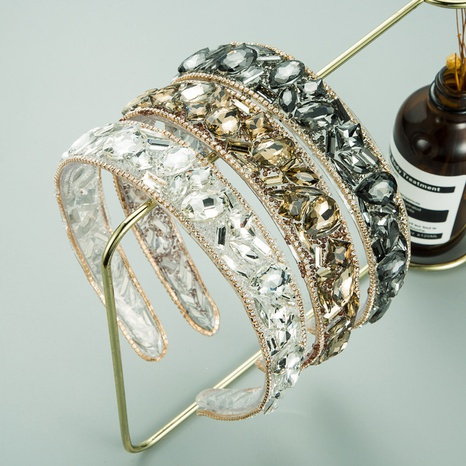 New Baroque korean transparent headband NHLN318361's discount tags