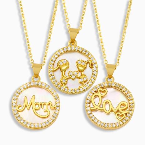 nuevo collar de concha de moda NHAS318364's discount tags
