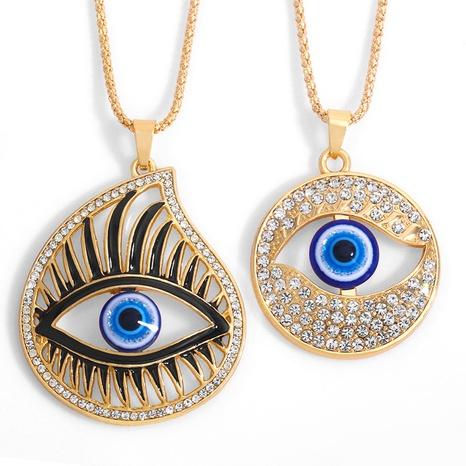 collar de ojo grande simple de moda NHAS318366's discount tags