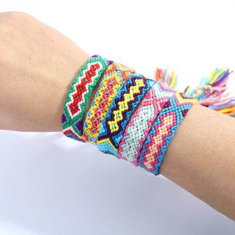 pulsera simple tejida a mano NHJQ318394's discount tags