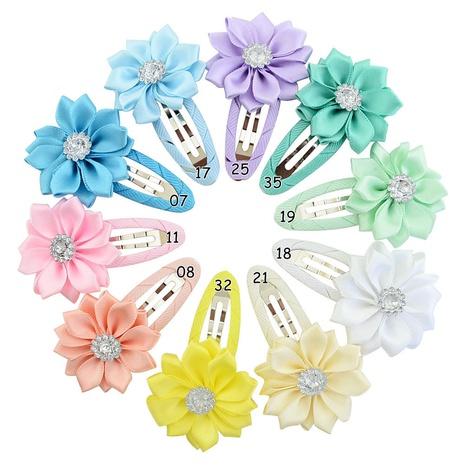 moda cinta puntiaguda floretes conjunto de clips BB para niños NHMO318416's discount tags