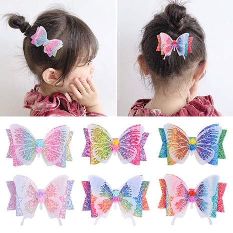 fashion simple Bow Sequin hairpin set  NHMO318422's discount tags