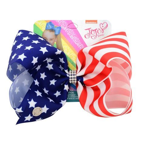 Bandera de estrella americana nuevo arco horquilla de arco de unicornio NHMO318425's discount tags