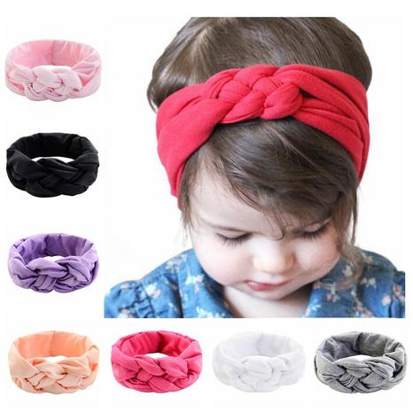 fashion Knotted Bunny Ears Headband set NHMO318451's discount tags