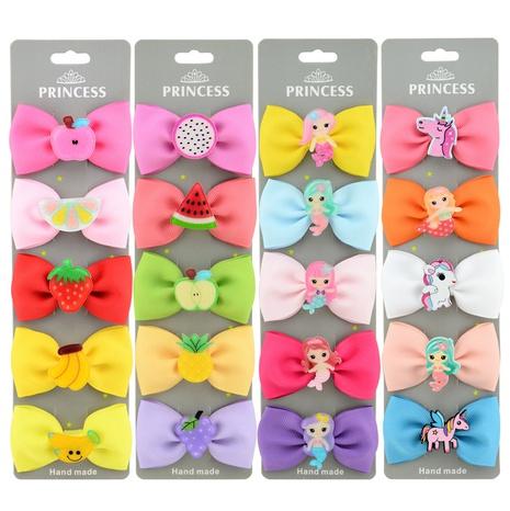 Korean fruit hairpin children bb side clip NHMO318454's discount tags