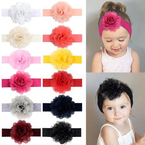 new fashion chiffon flower lace headband NHMO318457's discount tags
