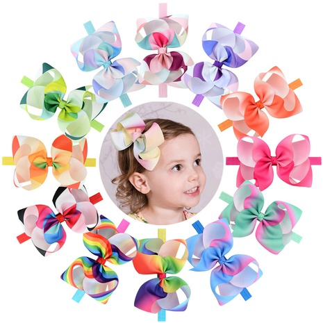 Mode Blume Bowknot Haarband Set NHMO318459's discount tags