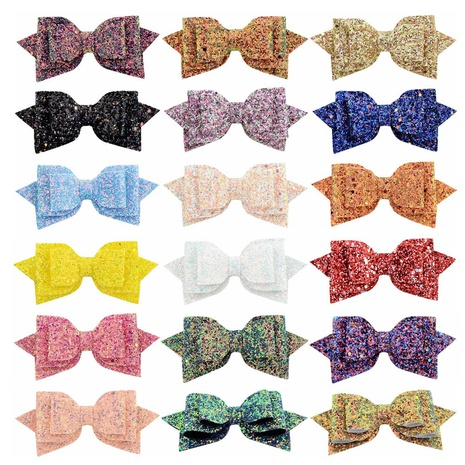 fashion gradient sequins bow hairpin set NHMO318464's discount tags