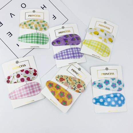conjunto de horquillas de celosía de frutas simples de moda coreana NHCU318477's discount tags