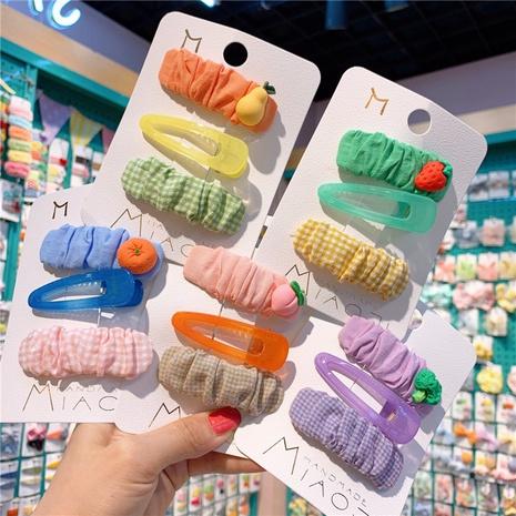 New fashion cute fruit bb clip set NHCU318489's discount tags