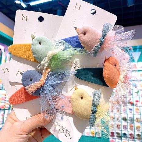 cute bird fashion wings duckbill clip set NHCU318494's discount tags