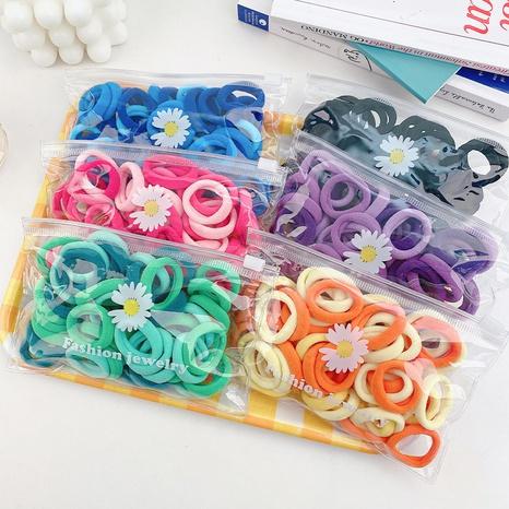 Conjunto simple de anillos para el cabello de color sólido NHCU318515's discount tags