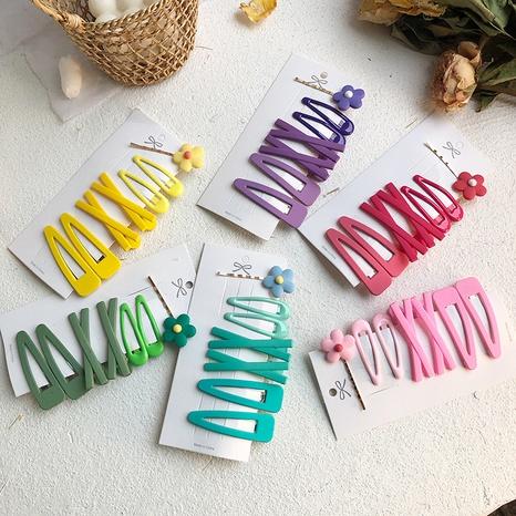 nuevo y sencillo juego de horquillas para niños lindos NHCU318524's discount tags